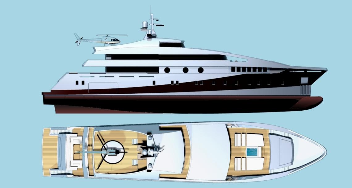 luxury yacht project 591 by beta marine yacht design luxury yacht