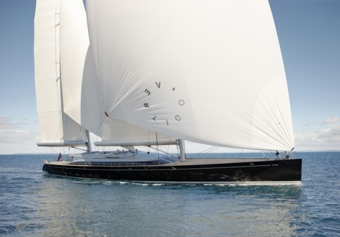 67.2m sailing yacht Vertigo by Alloy Yachts