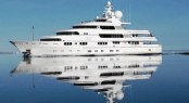 71m luxury charter yacht Titania (ex Apoise) by Lurssen