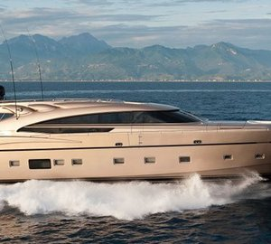 AB 116 motor yacht DIAMOND by Fipa Group with Interior Design by Guido de Groot delivered