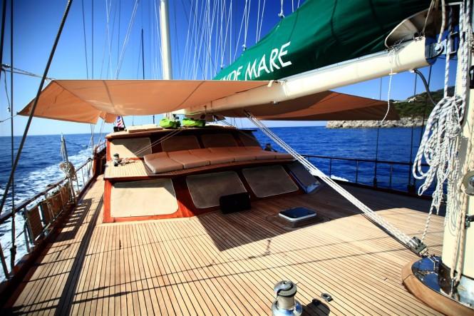Aboard charter gulet Grande Mare