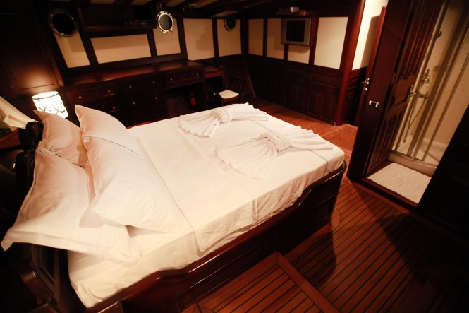 Accommodation aboard luxury Turkish Gulet Grande Mare