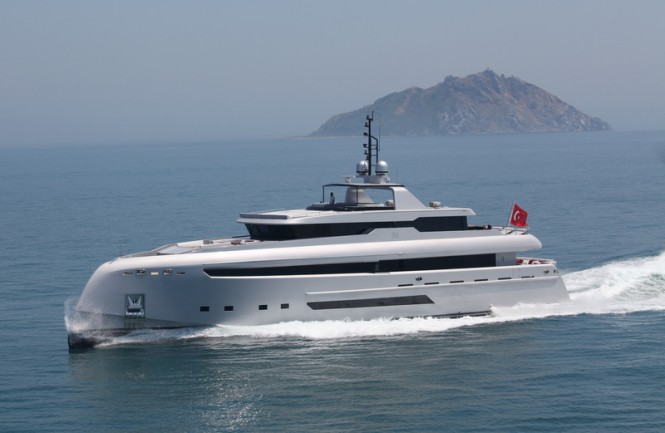 Bilgin 132 luxury motor yacht M (Project M)