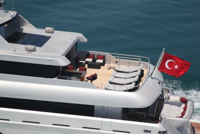 Bilgin 132 luxury yacht M