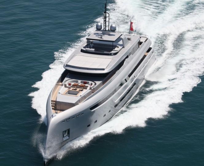 Bilgin 132 motor yacht M - front view
