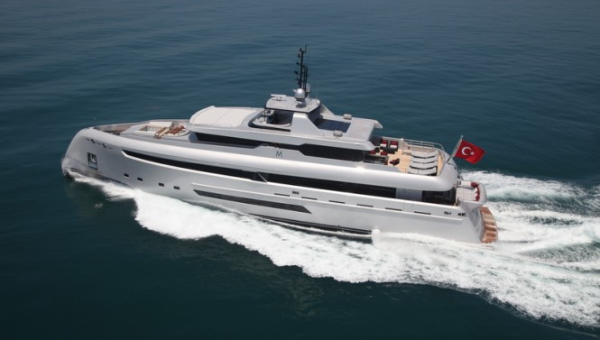 Bilgin 132 superyacht M (Project M)