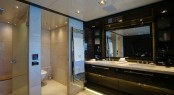 Bilgin 132 superyacht M main deck master bathroom