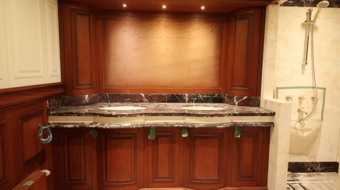 Bilgin 160 Classic superyacht Master Bathroom