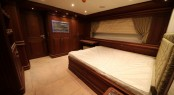 Bilgin 160 Classic superyacht lower deck aft guest cabin