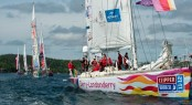 CLIPPER 11-12- RACE 13 - NOVA SCOTIA TO DERRY-LONDONDERRY - DAY 1 - image credit OnEdition