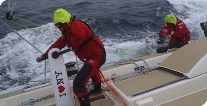 CLIPPER 11-12- RACE 13 - NOVA SCOTIA TO DERRY-LONDONDERRY DAY 3 - Image credit to On Edition
