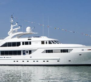 47m ISA motor yacht AXIOMA Mediterranean charter special in June and September 2012