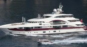 Charter Yacht Quinta Essentia - one of the luxury superyachts on display at The Rendezvous in Monaco