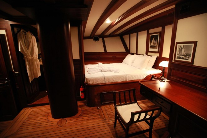 Charter yacht Grande Mare - Accommodation