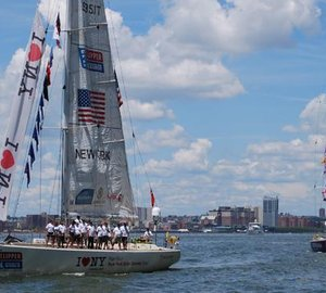 Clipper 11-12 Round The World Race: Race 12 - Day 1 New York to Nova Scotia