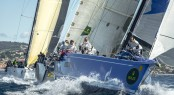 Competitors faced challenging conditions today at the Giraglia Rolex Cup 2012 Credit: Rolex/Kurt Arrigo