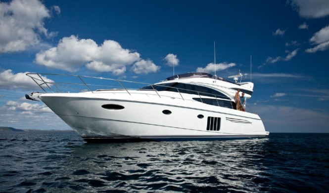 Debut of the luxury motor yacht Princess 60 at SCIBS 2012