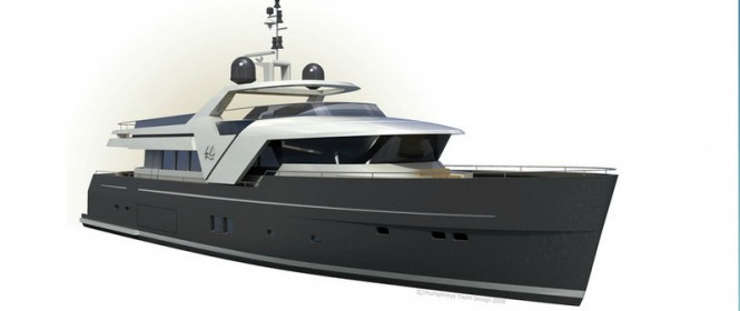 Echo 85 superyacht Credit: Humphreys Yacht Design 2009