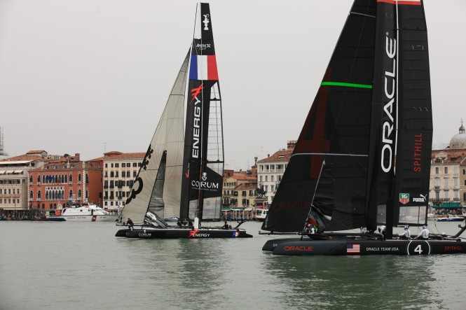 America's Cup World Series Venice 2012 - Final Race Day © Gilles Martin-Raget / ACEA
