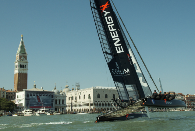 Energy Team competing in Venice © Stéphanie Billarant / Energy team