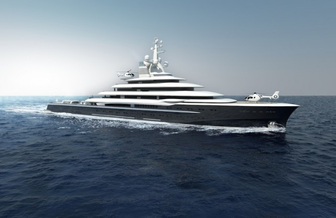 Explore 120 superyacht by Newcruise
