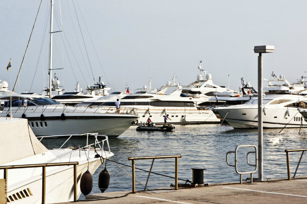 Flisvos Marina in Greece