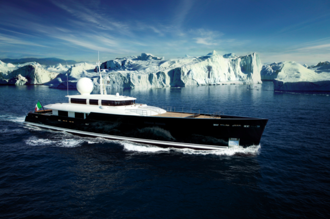 ICE Class luxury superyacht Galileo G - a Picchiotti Vitruvius ® Series yacht