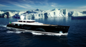 ICE Class luxury superyacht Galileo G - a Picchiotti Vitruvius &Acirc;&reg; Series yacht