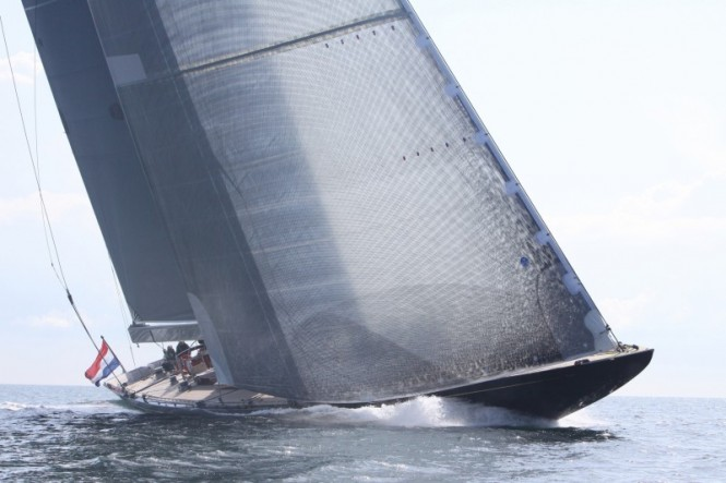 J-Class sailing yacht Rainbow by Holland Jachtbouw to take part in J Class Regatta
