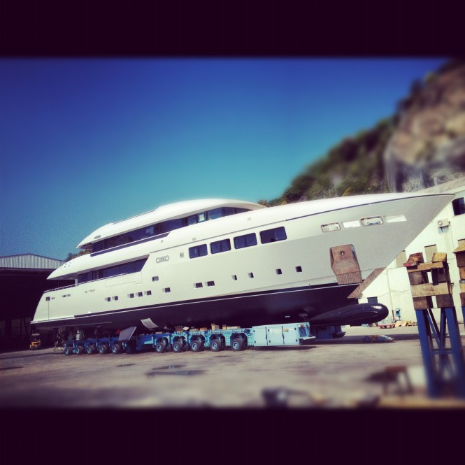 Launch of the motor yacht OKKO by Mondo Marine