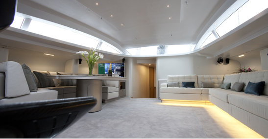 Leopard 3 Superyacht New Luxurious Interior