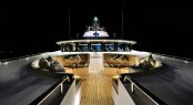 Luxurious exterior aboard Zenith superyacht