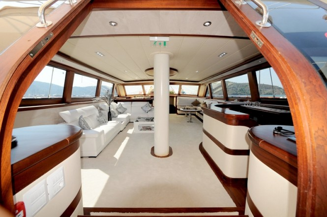 Luxury Yacht ALLESANDRO -  Main Salon