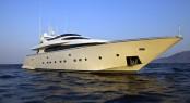 Luxury charter yacht Marnaya