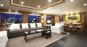 Luxury charter yacht SPIRIT