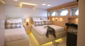 Luxury charter yacht taTii - Guest Cabin