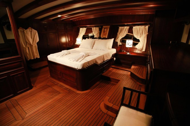 Luxury gulet Grande Mare interior