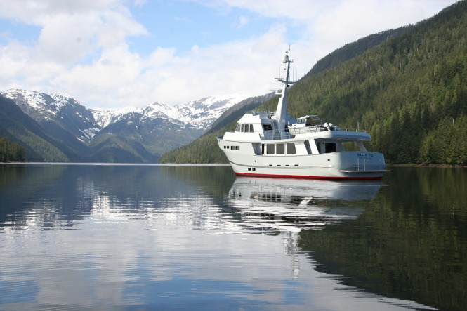 Luxury motor yacht Delta 70 by Delta Marine