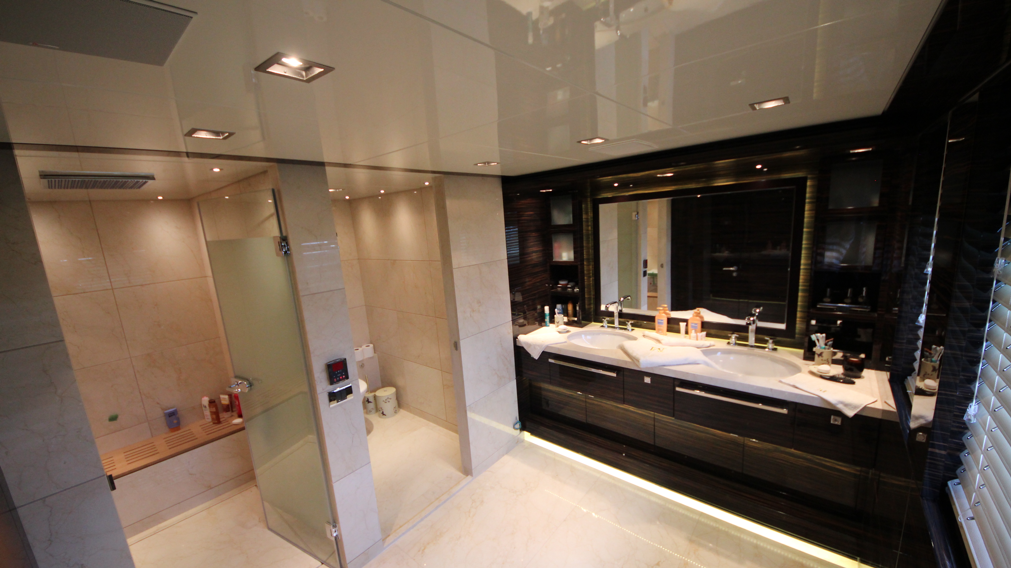 Luxury Motor Yacht M By Bilgin Yachts Bathroom Luxury Yacht