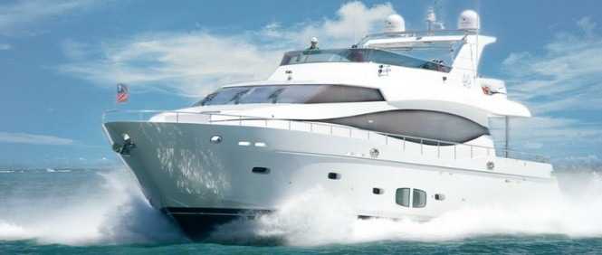 Luxury motor yacht Monte Fino 76