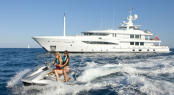 Luxury motor yacht Spirit