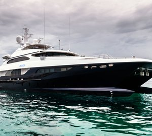 40m catamaran superyacht Zenith (IC0832) designed by Incat Crowther launched