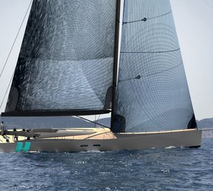 Monk Design collaborates on the newly launched WallyCento sailing yacht HAMILTON