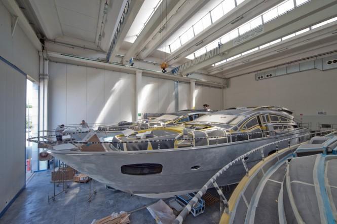 Luxury superyacht Pershing 82