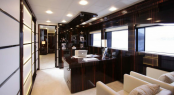 Luxury superyacht taTii - Owner office