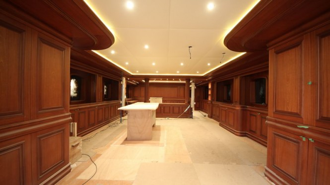 Luxury yacht Bilgin 160 Classic Salon