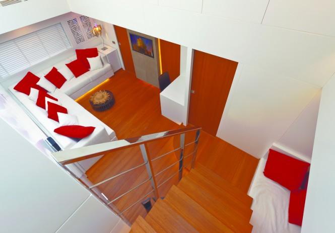 Luxury yacht Diamond Interior