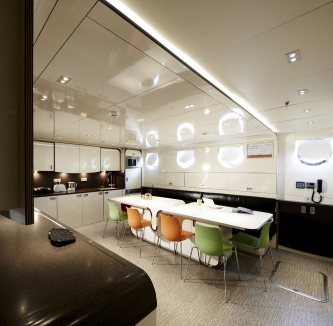Luxury yacht E&E Galley