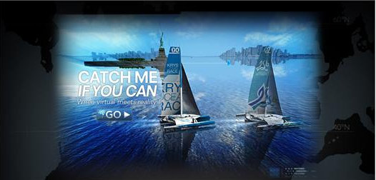 MOD70 Speed Match game and the VIRTUAL KRYS OCEAN RACE game by Multi One Championship and BeTomorrow