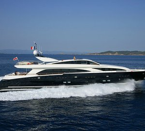 37m Couach motor yacht KADIMO'S fitted with yacht automation system by Veritais